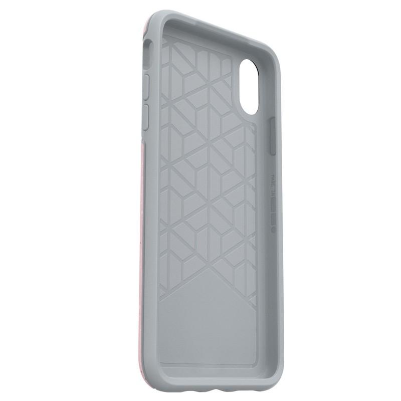 Otterbox Symmetry iPhone XS Max Hoesje On Fleck Roze 05
