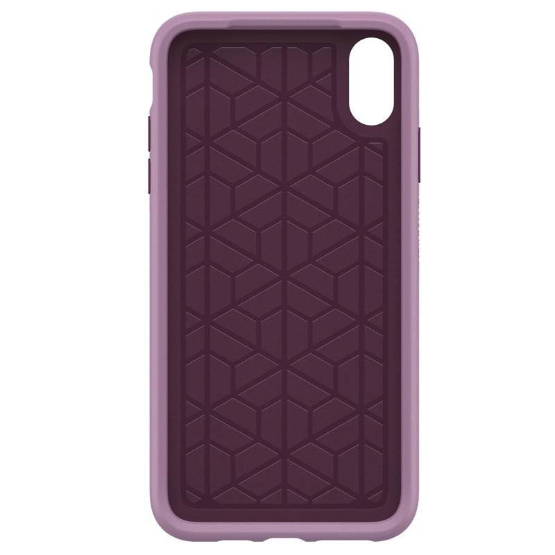 Otterbox Symmetry iPhone XS Max Hoesje Paars 02