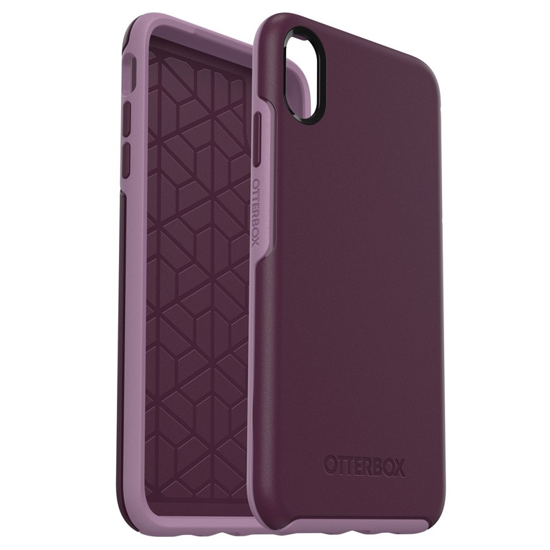 Otterbox Symmetry iPhone XS Max Hoesje Paars 03