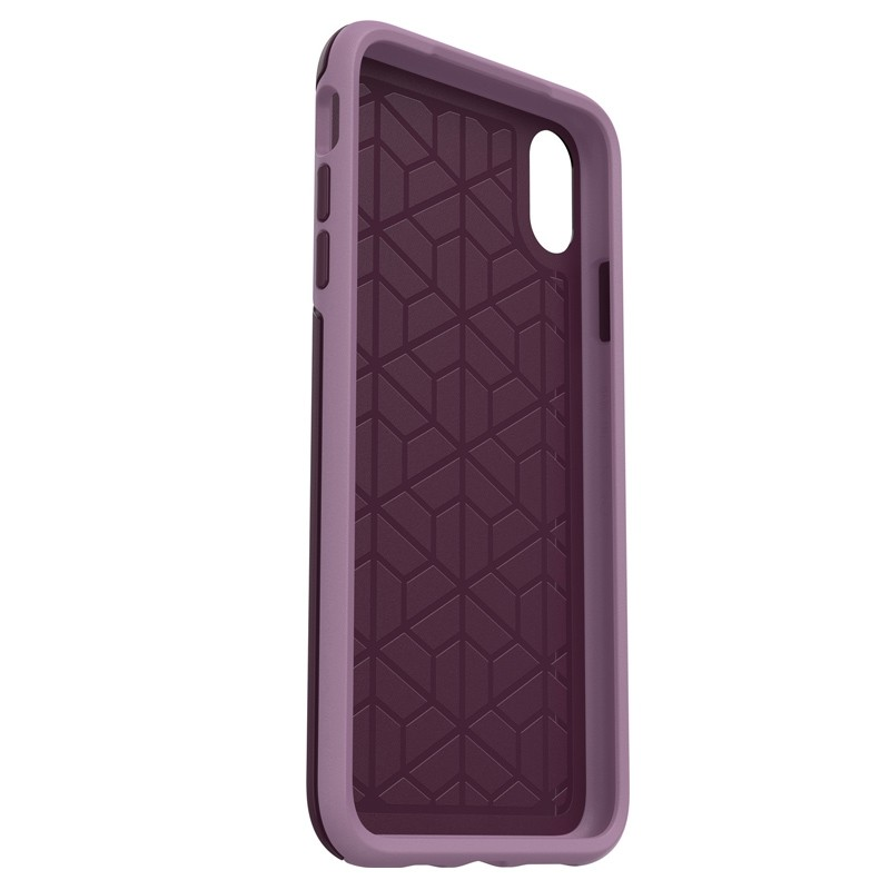 Otterbox Symmetry iPhone XS Max Hoesje Paars 05