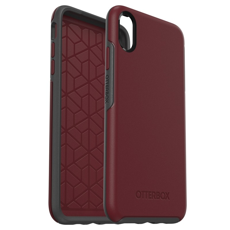 Otterbox Symmetry iPhone XS Max Hoesje Port Rood 03