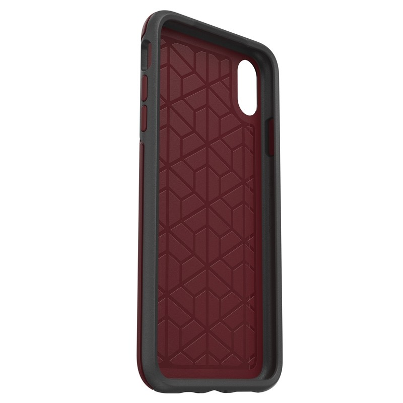 Otterbox Symmetry iPhone XS Max Hoesje Port Rood 05