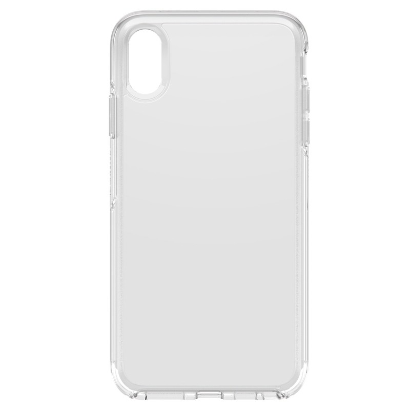 Otterbox Symmetry Clear iPhone XS Max Hoesje Transparant 01