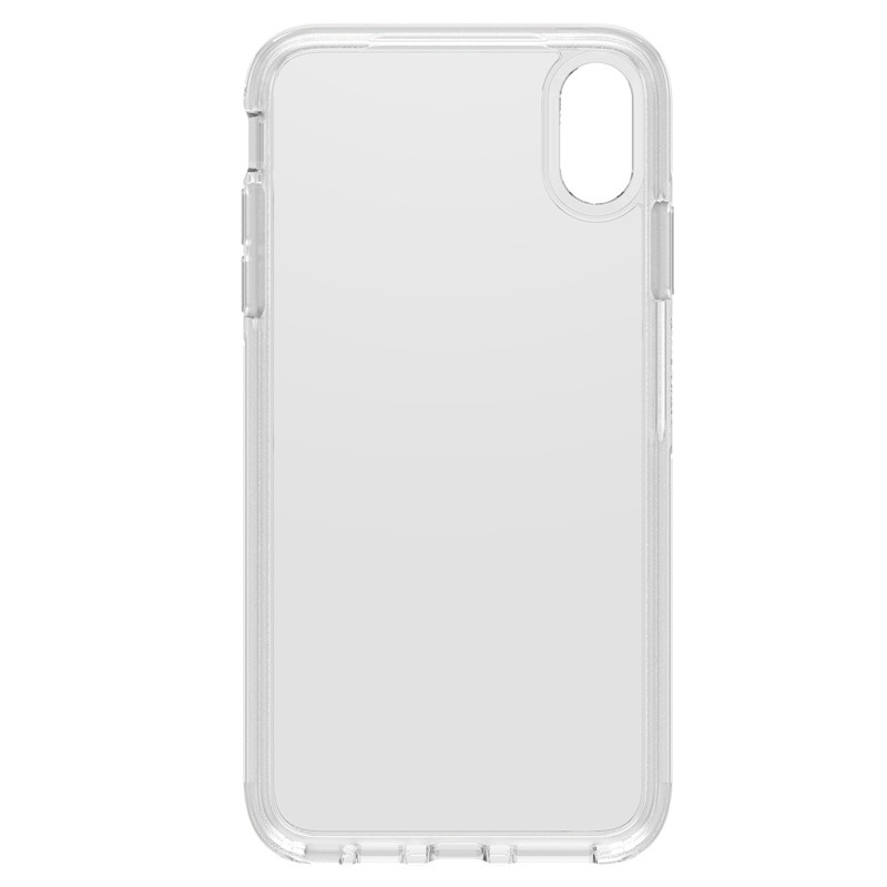 Otterbox Symmetry Clear iPhone XS Max Hoesje Transparant 02