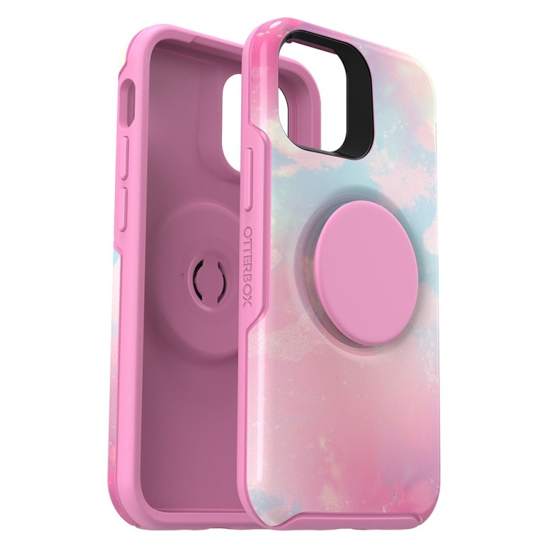 Otterbox Symmetry Otter+Pop iPhone 12 / 12 Pro 6.1 Roze - 2