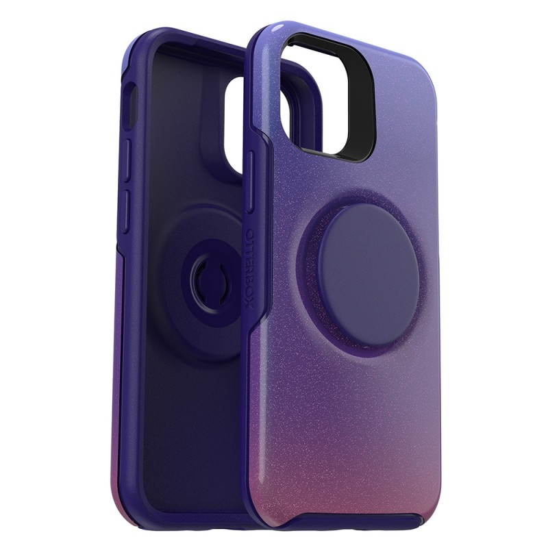 Otterbox Symmetry Otter+Pop iPhone 12 / 12 Pro 6.1 Paars - 6