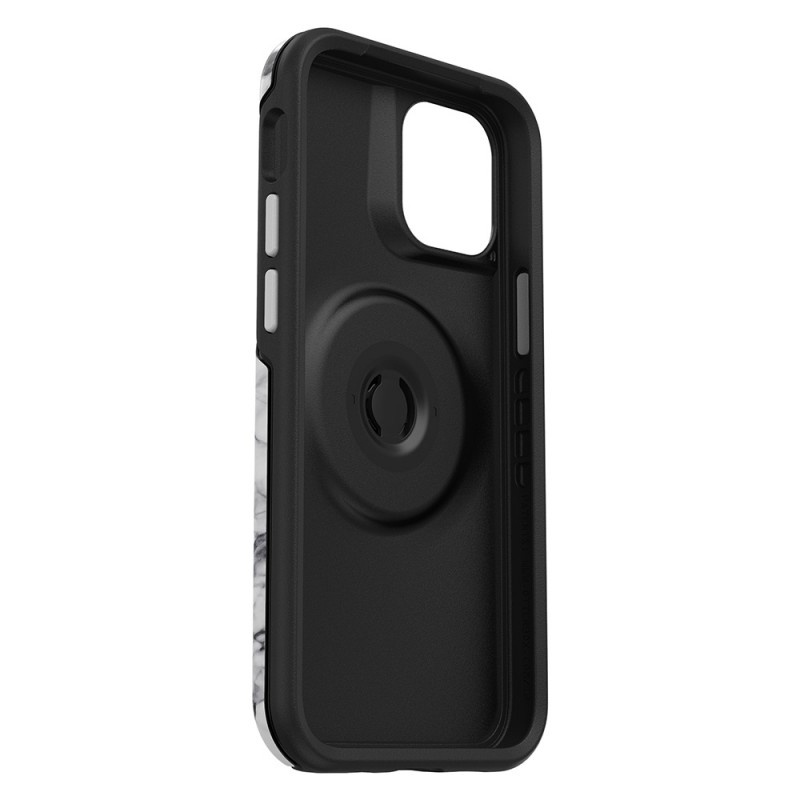 Otterbox Symmetry Otter+Pop iPhone 12 / 12 Pro 6.1 Wit Marmer - 4