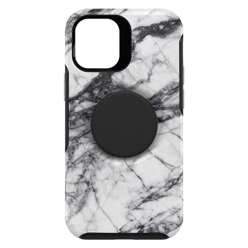 Otterbox Symmetry Otter+Pop iPhone 12 / 12 Pro 6.1 Wit Marmer - 6