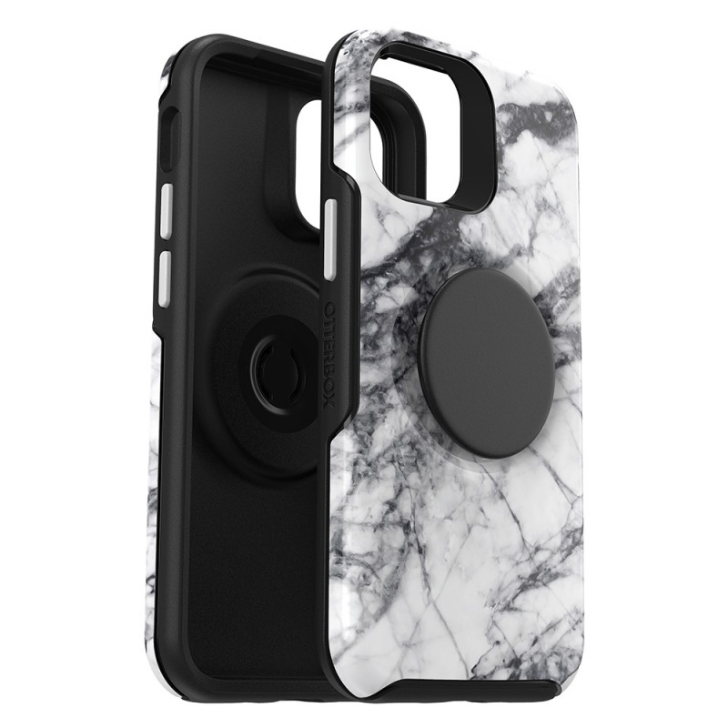 Otterbox Symmetry Otter+Pop iPhone 12 Pro Max Wit Marmer - 2