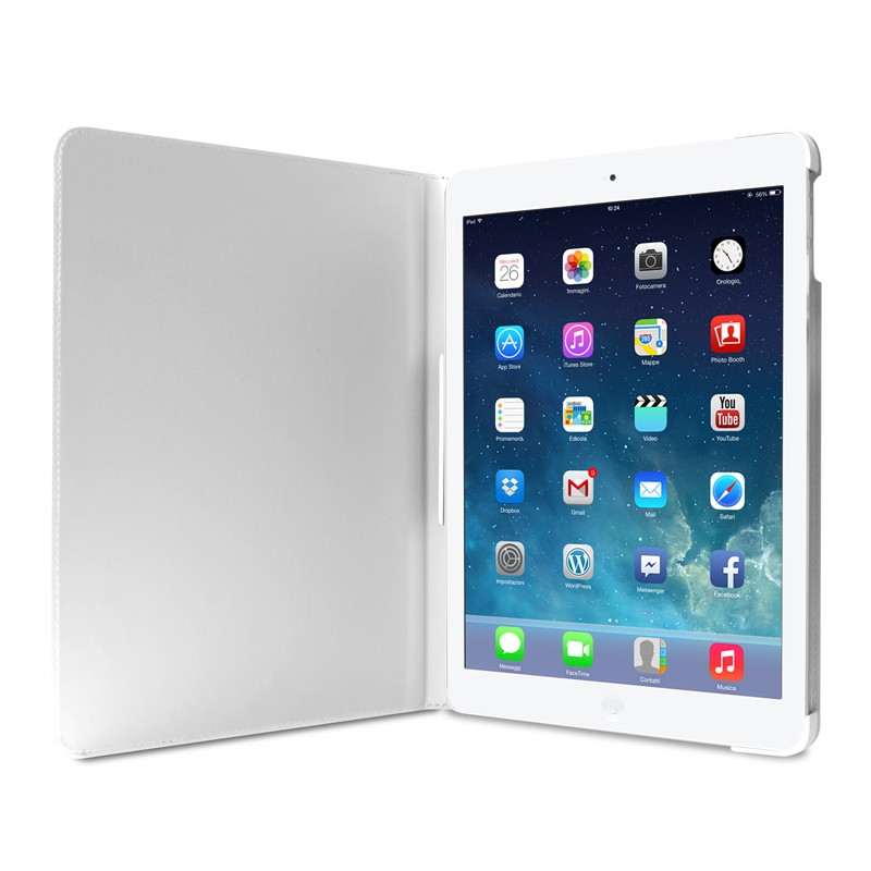 Puro Booklet Case iPad Air 2 White - 5