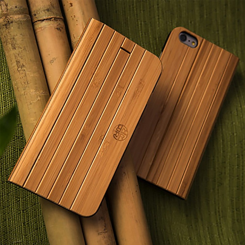 Reveal - Nara Folio hoes voor iPhone 7 Bamboo 05