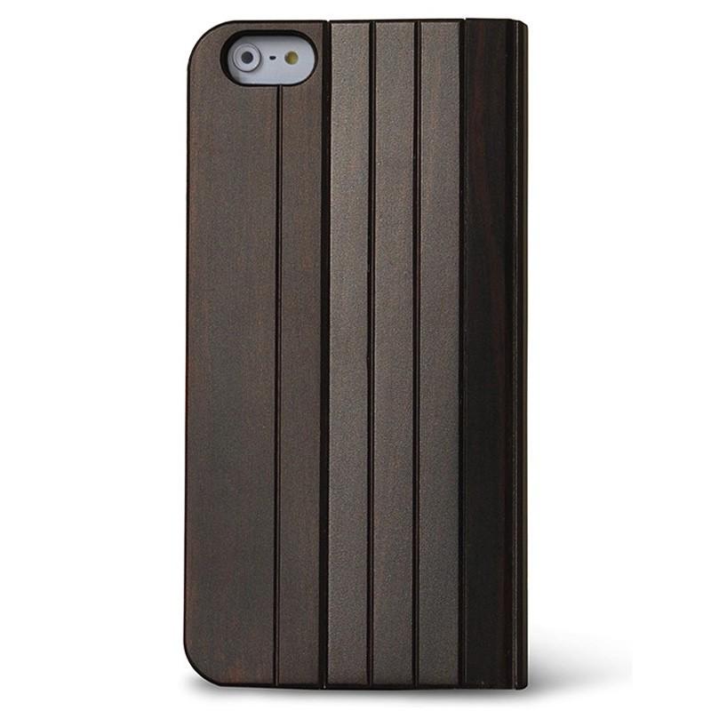 Reveal - Nara Folio hoes voor iPhone 7 Dark Wood 02