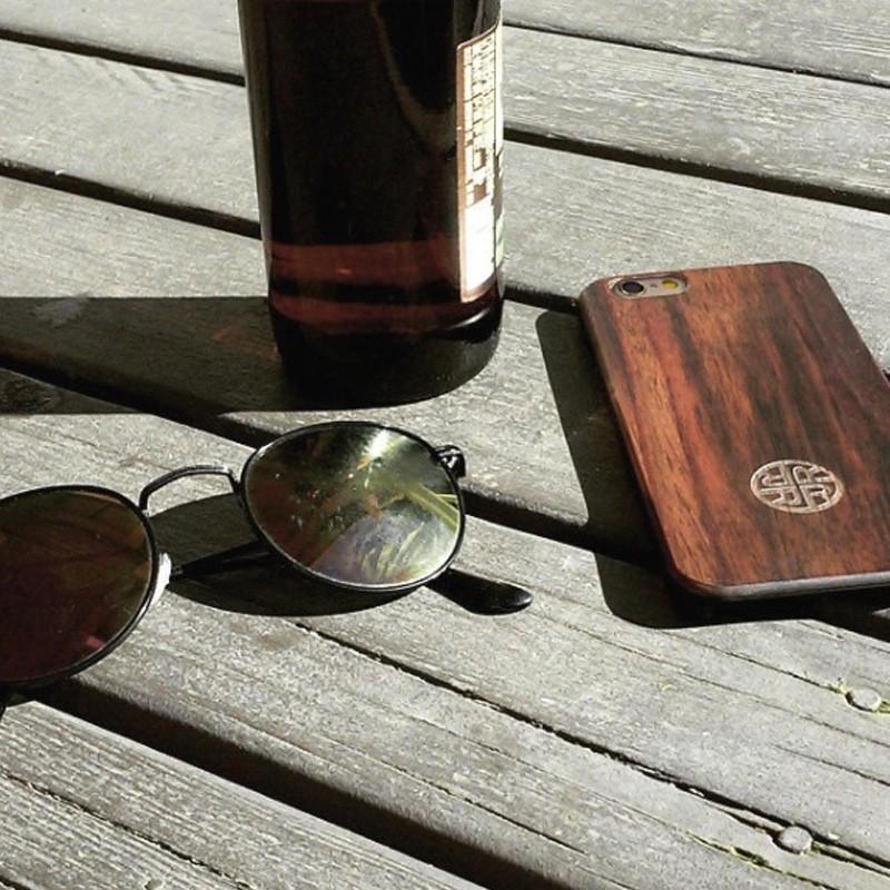 Reveal - Zen Garden Case Apple iPhone 7 Dark Wood 04