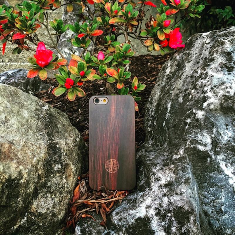 Reveal - Zen Garden Case Apple iPhone 7 Dark Wood 05