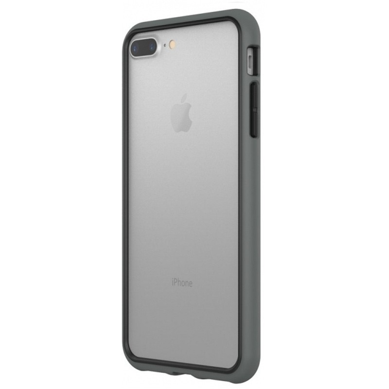 Rhinoshield - Crash Guard Bumper iPhone 8 Plus/7 Plus grijs 02
