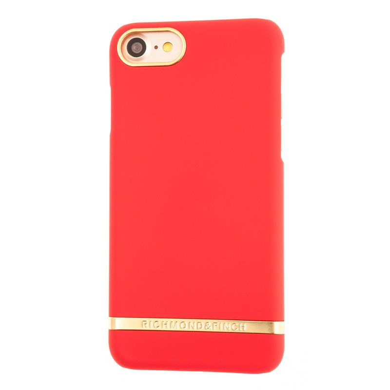 Richmond & Finch Classic Satin Case iPhone 7 Red - 1