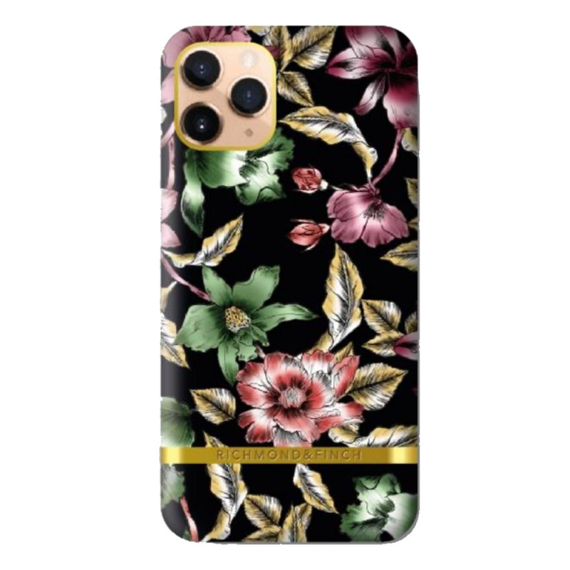 Richmond & Finch iPhone 12 / 12 Pro 6.1 inch Hoesje Floral Tiger - 1