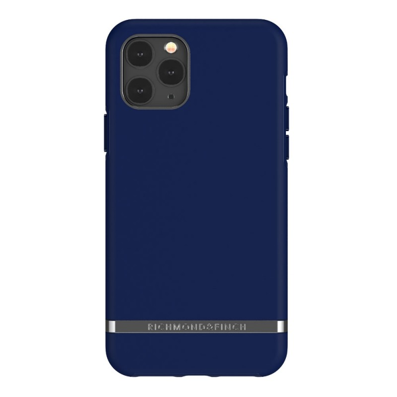 Richmond & Finch iPhone 12 / 12 Pro 6.1 inch Hoesje Navy Blue - 1