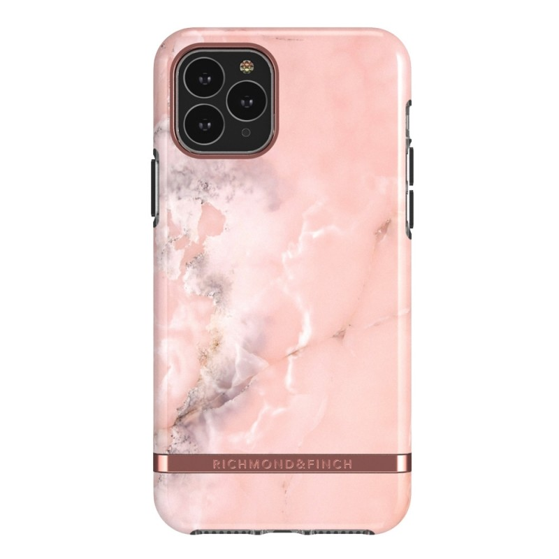 Richmond & Finch Trendy iPhone 12 Mini Hoesje Pink Marble - 1