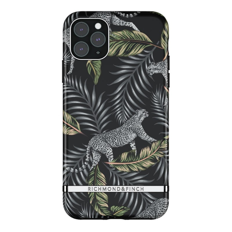 Richmond & Finch iPhone 12 Pro Max Hoesje Silver Jungle - 1