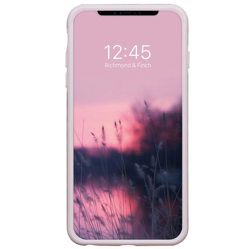 Richmond & Finch Tropical Leaves iPhone X/Xs Hoesje Cherry Blush - 2