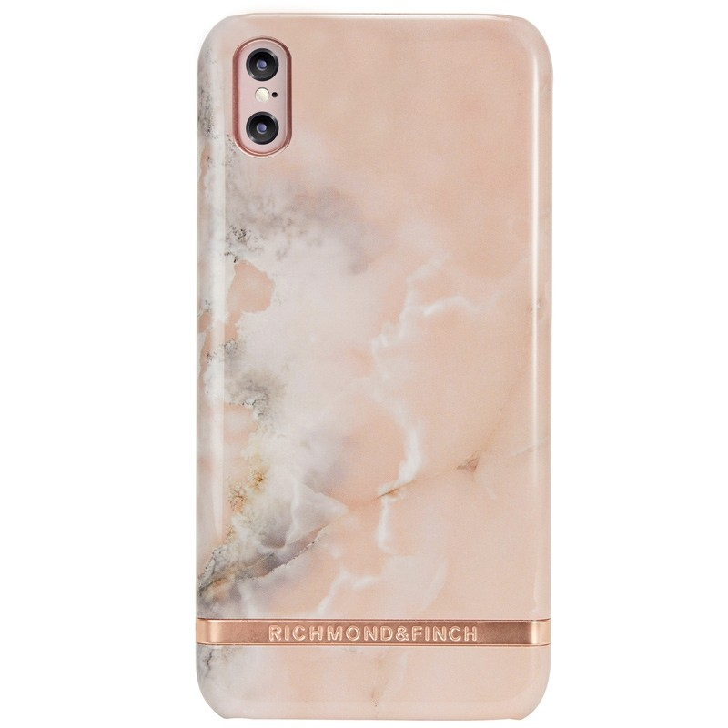 Richmond & Finch Marble Case iPhone X/Xs Rose Marble - 1
