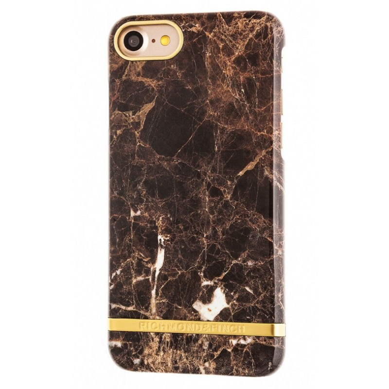 Richmond & Finch Marble Case iPhone 7 Brown - 1