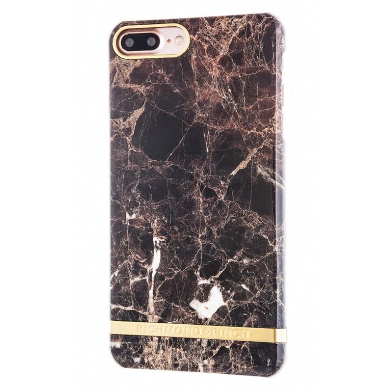 Richmond & Finch Marble Case iPhone 7 Plus Brown - 1