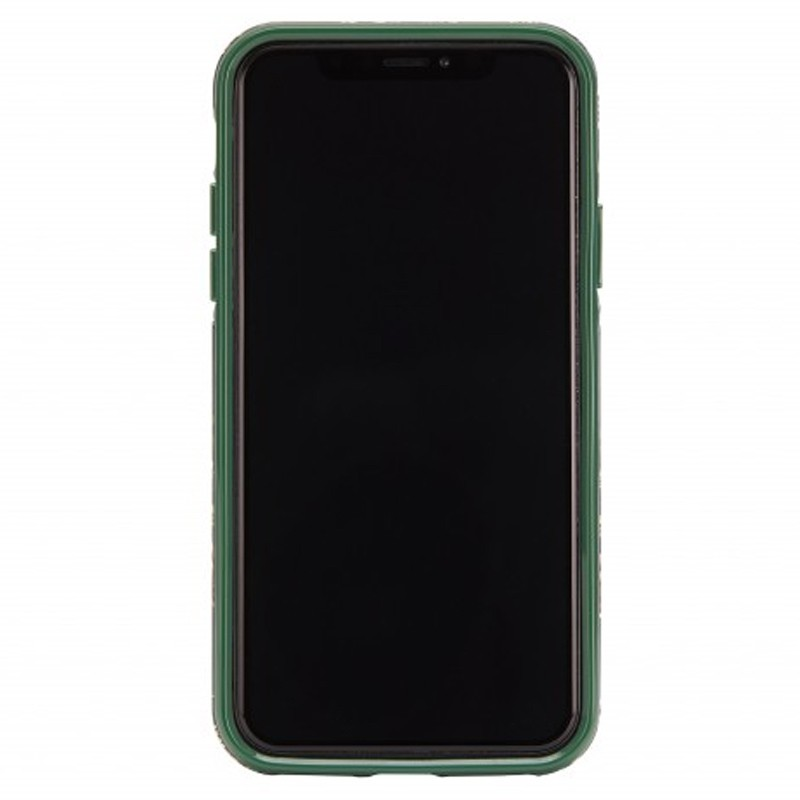Richmond and Finch Trendy iPhone XR Hoesje Emerald Blossom 02