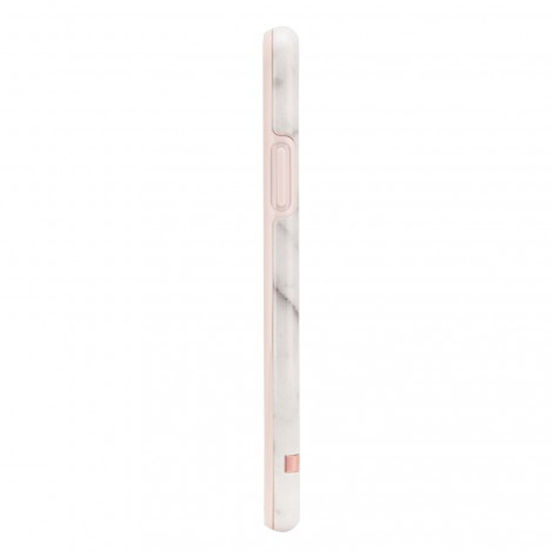 Richmond and Finch Trendy iPhone XR Hoesje White Marble 04
