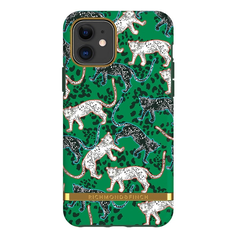 Richmond & Finch Freedom Series iPhone 11 Green Leopard - 1