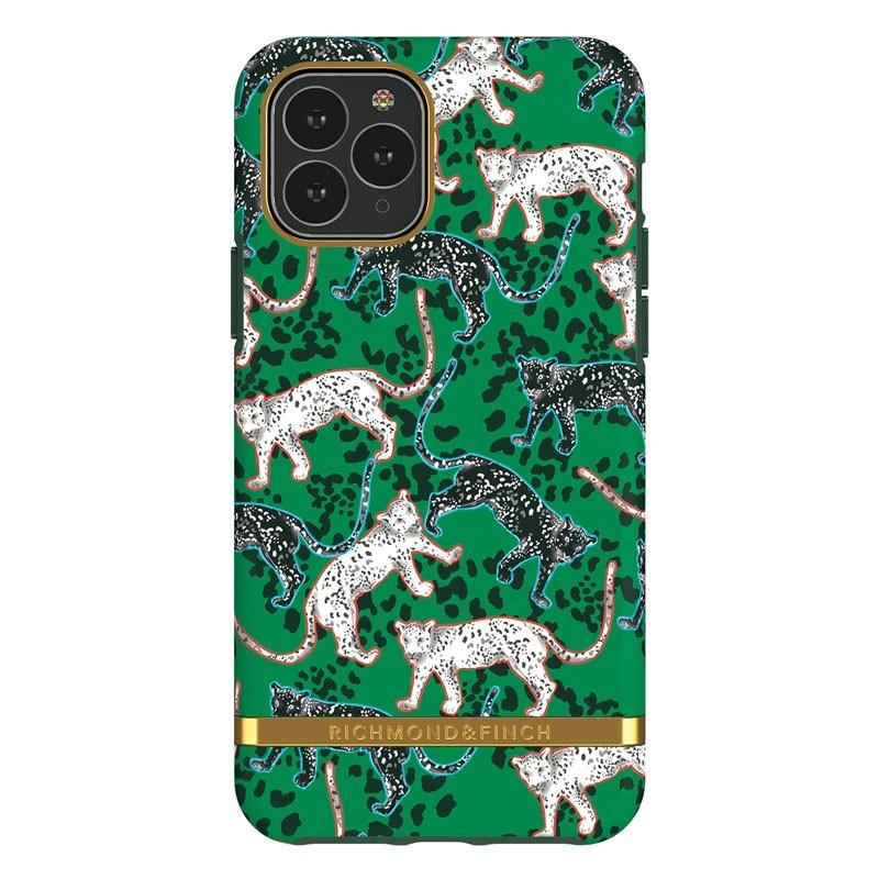 Richmond & Finch Freedom Series iPhone 11 Pro Green Leopard - 1