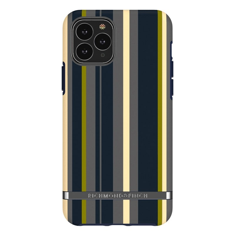 Richmond & Finch Freedom Series iPhone 11 Pro Navy Stripes - 1