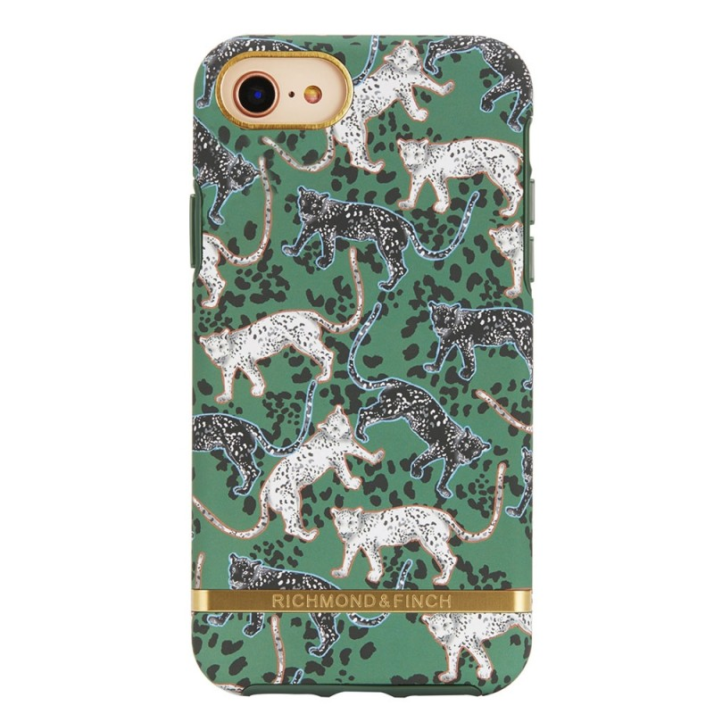 Richmond & Finch Freedom Series iPhone SE (2020)/8/7/6S/6 Green Leopard - 1