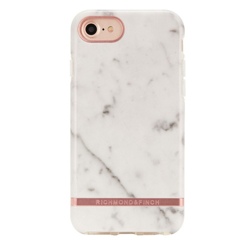 Richmond & Finch Freedom Series iPhone SE (2020)/8/7/6S/6 White Marble - 1