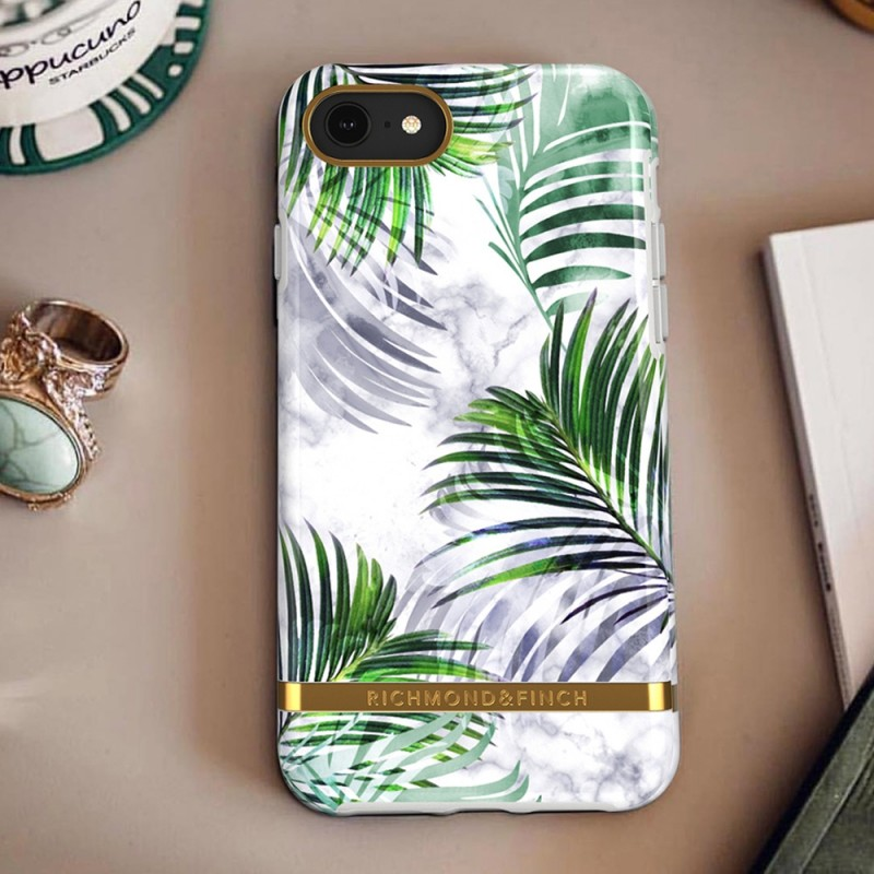 Richmond & Finch iPhone 8/7/6S/6 White Marble Tropics - 4