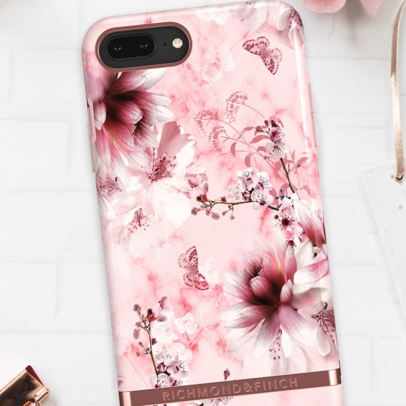 Richmond & Finch iPhone 8 Plus / 7 Plus Pink Marble Floral - 4