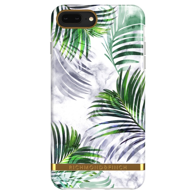 Richmond & Finch iPhone 8 Plus / 7 Plus White Marble Tropics - 2