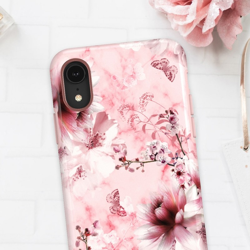 Richmond & Finch iPhone XR Pink Marble Floral - 4