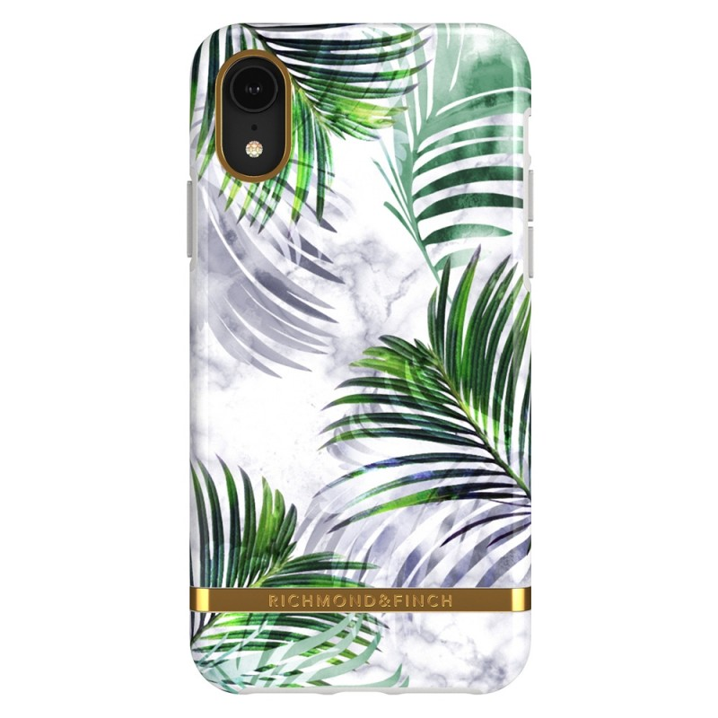 Richmond & Finch iPhone XR White Marble Tropics - 1