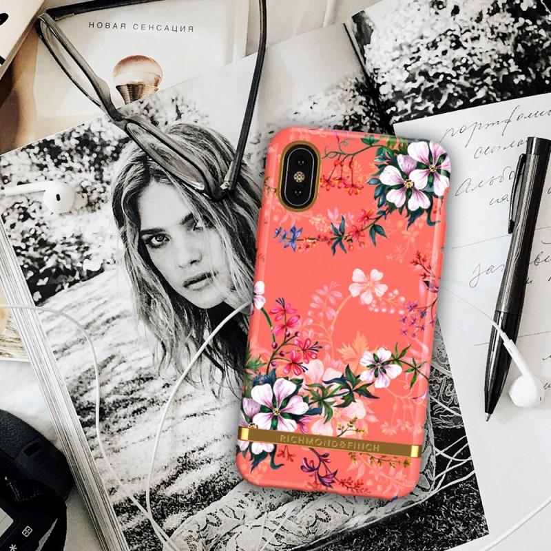 Richmond & Finch iPhone X/XS Coral Dreams - 4