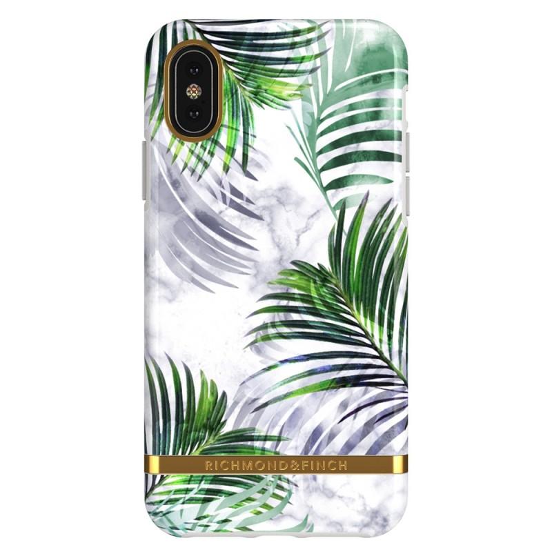 Richmond & Finch iPhone X/XS White Marble Tropics - 1