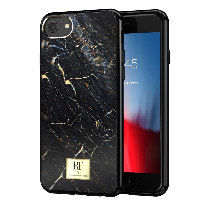 Richmond & Finch RF Series TPU iPhone 8/7/6S/6 Black Marble - 1