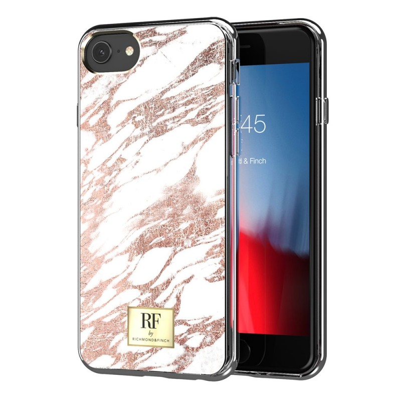 Richmond & Finch RF Series TPU iPhone SE (2020)/8/7/6S/6 Rose Gold Marble - 1