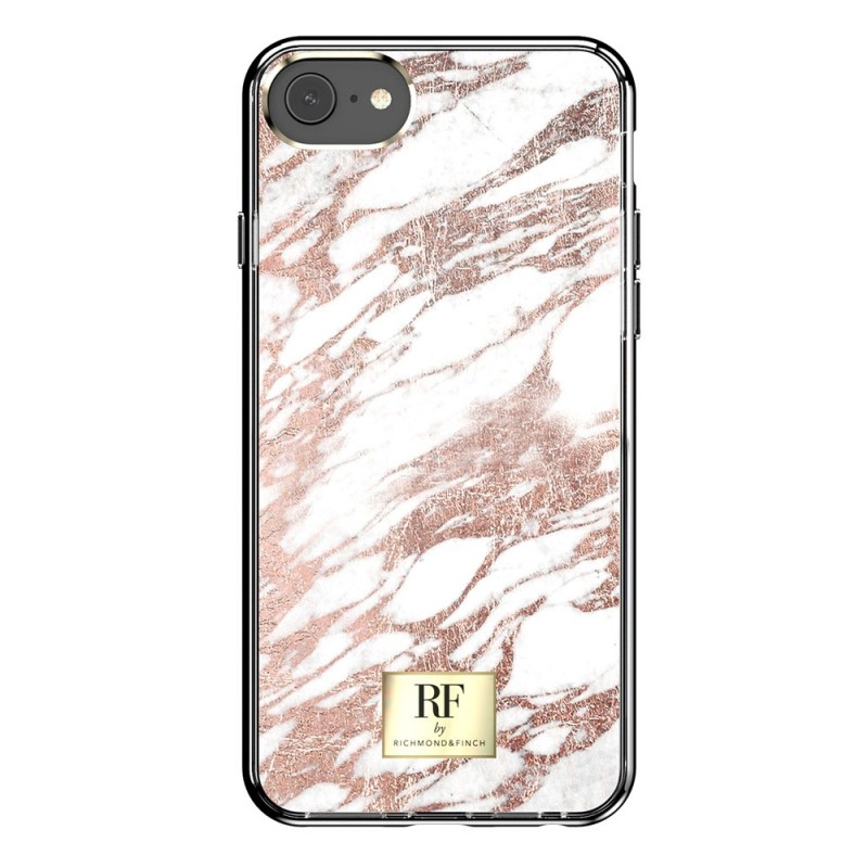 Richmond & Finch RF Series TPU iPhone SE (2020)/8/7/6S/6 Rose Gold Marble - 3