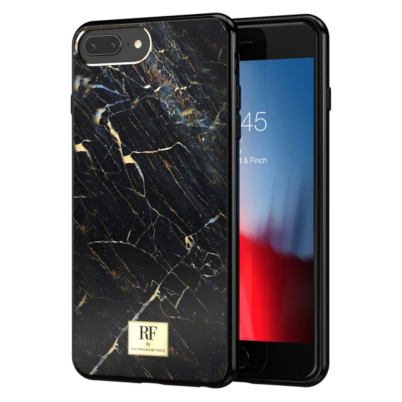 Richmond & Finch RF Series iPhone 8 Plus/7 Plus Black Marble - 1