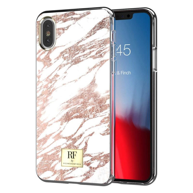 Richmond & Finch RF Series iPhone X/XS Rose Gold Marble - 1