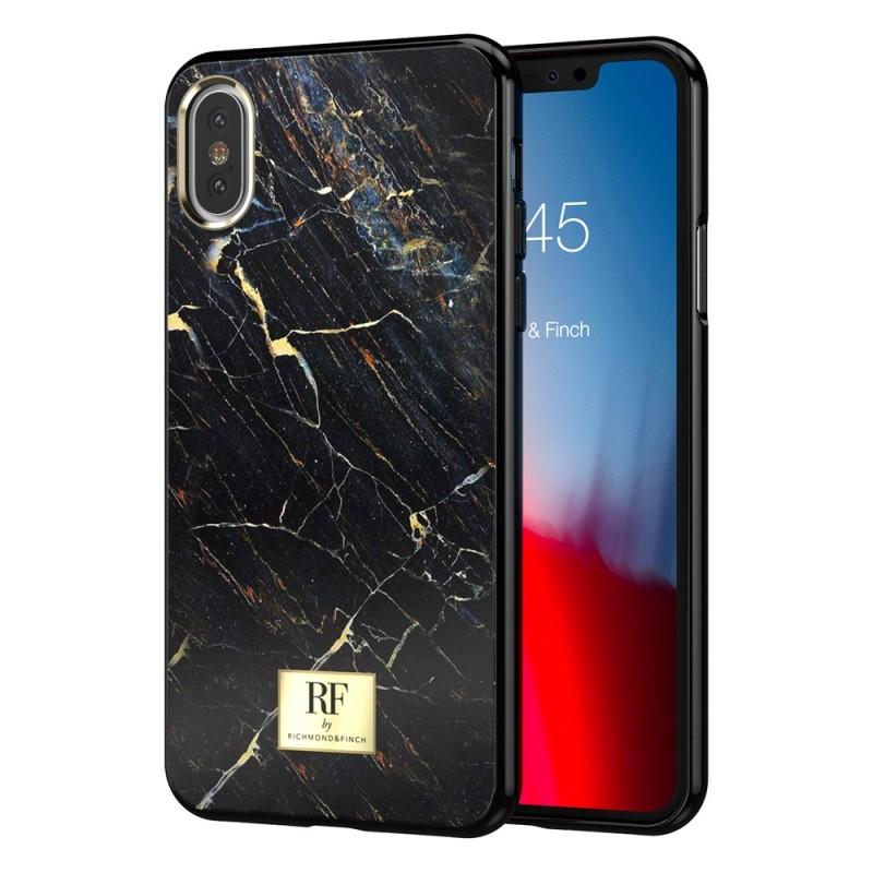 Richmond & Finch RF Series iPhone XS Max Black Marble - 1