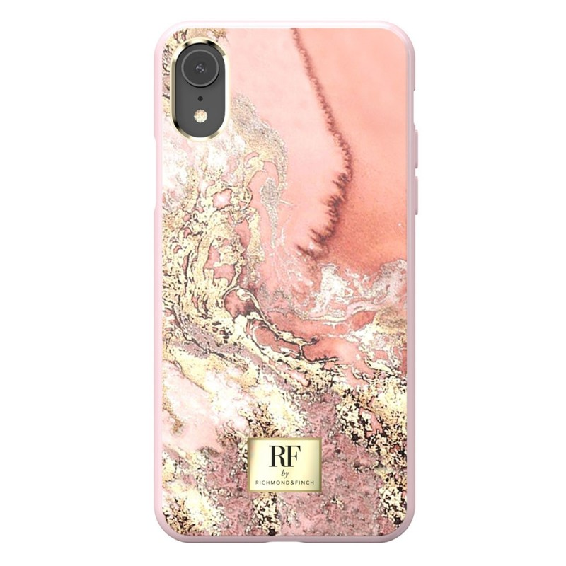 Richmond & Finch RF Series iPhone XR Pink Marble/Gold - 3