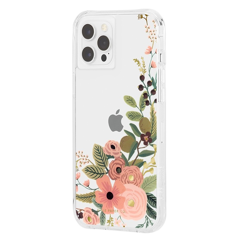 Case-Mate - Rifle Paper Flower Case iPhone 12 / iPhone 12 Pro 6.1 inch Floral Vines 02